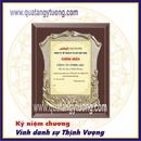 Tp. Hồ Chí Minh: Sản xuất bằng chứng nhận đại lý, bằng khen gỗ đồng CL1698691