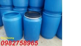 thùng phuy nhựa 220l, thùng phuy sắt, thung phuy gia re, thung phuy