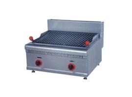 Bếp nướng than đá nhân tạo dùng gas