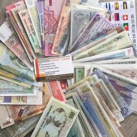 Bộ tiền 100 nước trên thế giới
