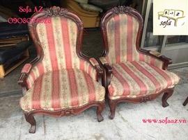 Bọc ghế sửa ghế sofa cổ điển cao cấp quận 2