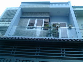 Nhà Hẻm 390 PHÍch, phường 12, Gò Vấp, HXH 5m Thông, 4,5 x 11m, 1Trệt