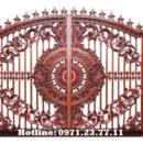 Tp. Hà Nội: Cổng Nhôm Đúc Minh Anh - Cửa Cổng Tuyệt Đẹp Cho Biệt Thự CL1698987