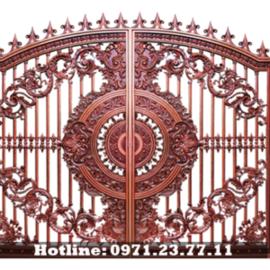 Cổng Nhôm Đúc Minh Anh - Cửa Cổng Tuyệt Đẹp Cho Biệt Thự