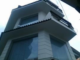 Nhà 80/ 66 DQ Hàm, P5, GV, 2 MT Hẻm Thông, 6.3x18m, 1T+1 Lửng, 2 Lầu, 4PN, 5WC