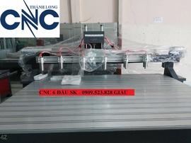 Máy CNC 6 đầu đục tranh 3 D