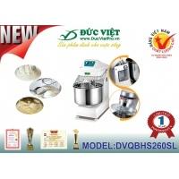 Máy trộn bột bánh Đức Việt DVQBHS260SL công cụ hỗ trợ tuyệt vời