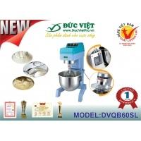 Máy trộn bột bánh Đức Việt DVQB60SL công cụ hỗ trợ tuyệt vời