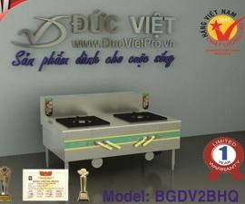 Bếp gas công nghiệp Đức Việt bán chạy 1e