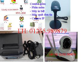 Combo phần mềm bán hàng 3 sản phẩm tặng kèm camera thông minh tại quận Cái Răng