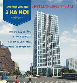 Chung cư Hà Nội Landmark 51 - TOP 3 tòa nhà cao nhất Hà Nội