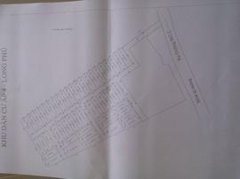 Cần bán đất nền thổ cư ven sông Long Hậu, sổ hồng riêng, 290tr/ nền