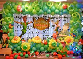 Trang trí tiệc sinh nhật trọn gói giá rẻ ở Tp. HCM