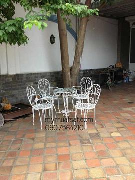bàn ghế sân vườn đẹp giá rẻ
