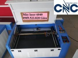 Máy Laser 6040 làm con dấu, cắt khắc mica