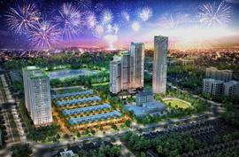 Lần đầu tại Hà Nội có chung cư 3 mặt đường, 1 mặt Công viên