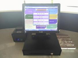 Máy tính tiền cảm ứng trọn bộ giá rẻ bán tại hải phòng
