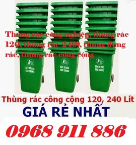 Thùng rác composite, thùng rác 120l, 20l, 90l, thùng rác các loại