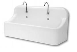 Bồn rửa tay tự động 2 vòi HSC AQU10002