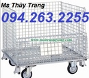 Tp. Hải Phòng: sọt thép trữ hàng, sọt thép giá rẻ, lỗng trữ hàng, xe đẩy hàng giá rẻ, xe đẩy hàng CL1698496