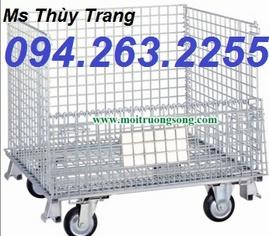 sọt thép trữ hàng, sọt thép giá rẻ, lỗng trữ hàng, xe đẩy hàng giá rẻ, xe đẩy hàng