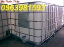 Tp. Hà Nội: thùng đựng hoá chất, tank nhựa giá rẻ, tank nhựa 1000lit, bồn nhựa giá rẻ, tank nhựa CL1698469