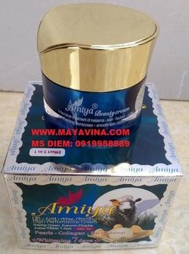 Trị Mụn Nám Sạm Tàn Nhang với kem AMIYA va Chống Lão Hóa