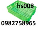 Tp. Hà Nội: rổ nhựa giá rẻ, thùng nhựa rỗng, rổ nhựa công nghiệp, sóng nhựa giá rẻ, ro nhua CL1698496