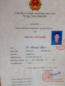 Bà Rịa-Vũng Tàu: ➡➡➡ Đào tạo nghề NỒI HƠI, VẬN THĂNG, MÁY XÚC tại Doanh nghiệp 0978588987 CL1702355