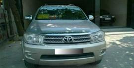 Toyota Fortuner 2. 7 4x4 2009 AT, màu bạc 665 triệu