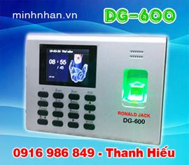 máy chấm công vân tay DG-600 giá khuyến mãi-hàng chất lượng