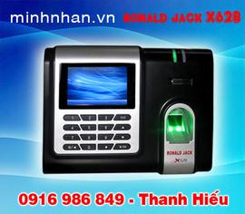 máy chấm công Ronald jack X628 giá ưu đãi Binh Dương