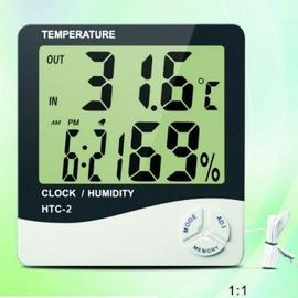 nhiệt ẩm kế , htc 02, máy đo nhiệt độ , độ ẩm , nhiệt ẩm kế có dây
