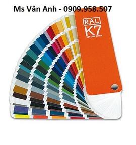 Quạt màu RAL K5, K7, D2 của hãng RAL