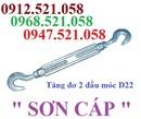 Tp. Hà Nội: KIM KHÍ THANH SƠN 0968. 521058 bán Tăng đơ thép 2 đầu móc, 2 đầu tròn HaNoi CL1699082