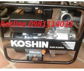 Cần bán máy bơm xăng koshin SEV 80X hàng Nhật Bản chính hãng