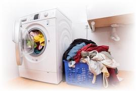 Sử dụng máy giặt có hại đến sức khỏe hay không?