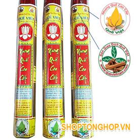 Nhang Quế sạch tốt cho sức khỏe người Việt
