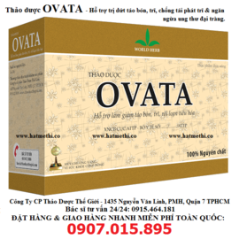 Thảo dược OVATA chữa trị & chống tái phát Trĩ hiệu quả