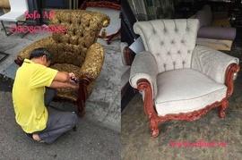 Bọc ghế sofa cổ điển - Đóng ghế salon quận 1
