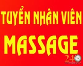 Tuyển Nhân Viên Massage Nam hcm