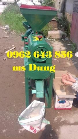 Dùng máy xát gạo mini công suất 3kw tiện lợi cho hộ gia đình