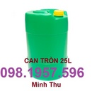 Tp. Hải Phòng: can nhựa giá rẻ, thùng nhựa giá rẻ, thung dung hoa chat, can nhua 30l, can nhua CL1700543