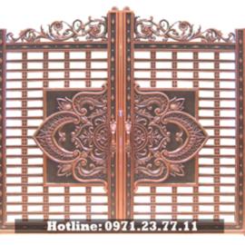 Cổng Nhà Đẹp - Cổng Nhôm Đúc Cho Biệt Thự Nhà Vườn