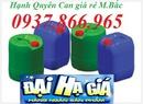 Tp. Hà Nội: can nhựa hà nội, can nhựa hóa chất 20lit, can nhựa 20l giá rẻ CL1698923