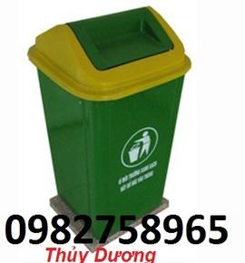 thùng đựng rác, thùng rác công cộng, thùng rác 204lit, thùng rác nhựa giá rẻ,