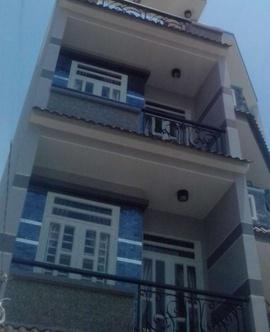 h$*$. Bán nhà cực đẹp mới xây 3,5 tấm hẻm Minh Phụng, quận 6