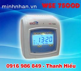 máy chấm công WSE-7500A, WSE-7500D bán chạy nhất-siêu bền-nhỏ gọn