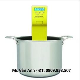 Sous vide cho đầu bếp để đo nhiệt độ