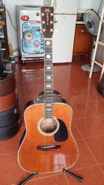 Bán guitar Morris W 60 sản xuất tại Nhật